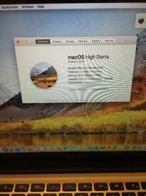 MacBook Pro 13 Inch Mid 2012 Latest version 10.13 macOs High Sierra Professional And Very Fast Apple