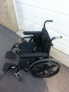 "#015  20"" wide QUICKIE Manual Folding Wheelchair for ONLY $150"