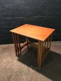 Lovely clean nest of tables