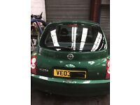 NISSAN MICRA k12 1.2 petrol breaking parts / spares