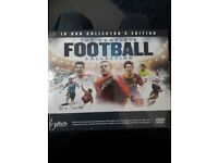 THE COMPLETE FOOTBALL COLLECTION DVDS
