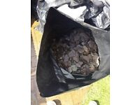 20 bags of Garden slate chipping