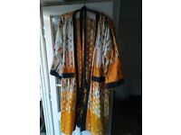 An African 100 % Cotton Dressing Gown