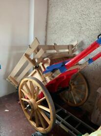 Fully Restored Horse Drawn Cart