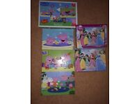 Peppa pig and princess puzzles immaculate