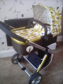 Cosatto giggle 2 3in1 pushchair.
