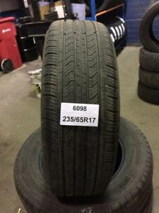 PNEUS D ETE USAGER 235/65R17 SUMMER USED TIRES 23565R17  MICHELIN MXV4 4 DISPONIBLES 50.00$ CHACUN.