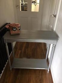 One console table
