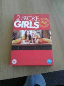 2 broke girls season 1 and 2