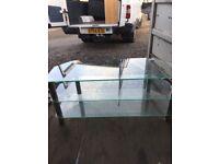 Glass TV / Media unit