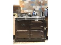AGA cooker, converted to gas