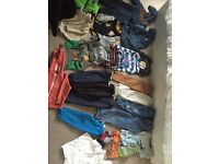 Must go ASAP!! Baby boy clothes& shoes 12-24 months!!!!