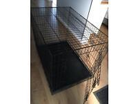 Large dog cage 104cm long 77cm h 70cm w