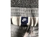 Original Nike Grey Tracksuit bottoms Size Medium