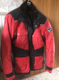 Superb FRANK THOMAS Motorcycle Jacket (HARDLY USED)