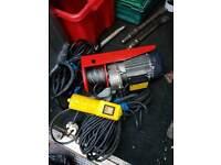 240 volt winch power hoist