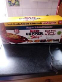 Red copper 5 minute meal maker