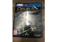 Brand new sealed Deus Ex Ps4