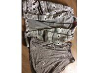 Girls age 9-10 cardigan/jacket & top