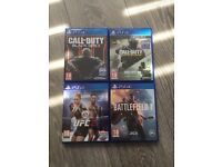 PS4 Games or sale