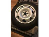 Vw t6 transporter rims, continental tyres