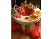 Baby walker / activity table