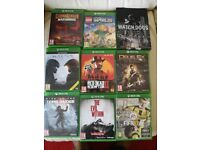 9 x Xbox One Games Bundle. Job Lot #2
