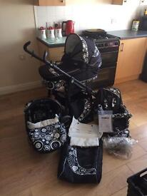 BabyStyle Lux S3D 3 in 1 pram