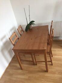 Ikea JOKKMOKK Brown Dinning Room Dinner Table, Brand New Condition