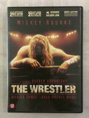 "DVD "" THE WRESTLER "" Mickey Rourke"
