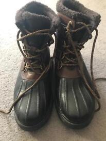 Men's rockport boots size 9