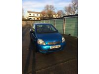 Beautiful Toyota Yaris with full Toyota Service Book Stamps Since Manufacture