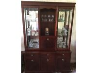 Display cabinet, TV unit, stereo cabinet