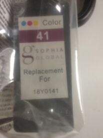 41 colour replacement ink cartridge