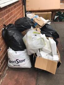 07834589113 Rubbish removals Birmingham metal man and van garden clear