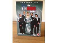 The Big Bang Theory seasons 1-4