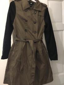 Brand new***khaki trench coat/jacket