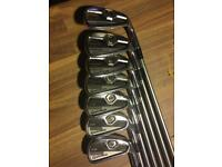 Taylormade CB Irons si- 4 graphite shafts
