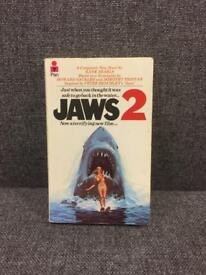 Vintage retro 70s JAWS 2 PAN Paperback book novel Rare movie SDHC