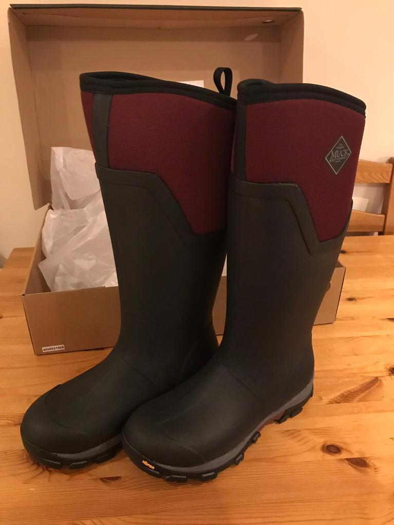 4c75de6fb0e57 Muck Boot Women's Arctic Ice AG Tall Wellington Boots size 8 | in ...