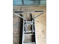 12ft 3.4m double ladder and stay