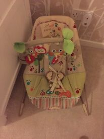 Baby bouncer - fisher price happy Forrest