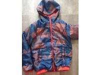 Decathlon Boys reversible jacket/coat age 10 yrs good as new