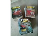 Collection of Thoroughbred & Classic Car magazines