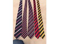 5 stripy ties