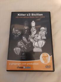 Chess dvd : Killer c3 Sicilian