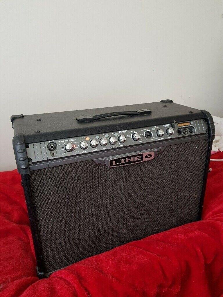 Line 6 Spider 3 120watt Modelling Guitar Amp with Effects, Delay,  Distortion Modulation | in Epsom, Surrey | Gumtree