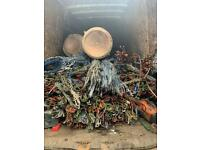 Scrap metal wanted,free metal collection,armoured cable buyers