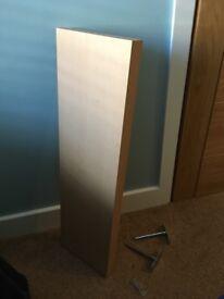 Dining room utility shelf