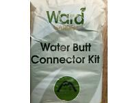Water butt connector kit